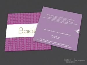 store invitation card design services
