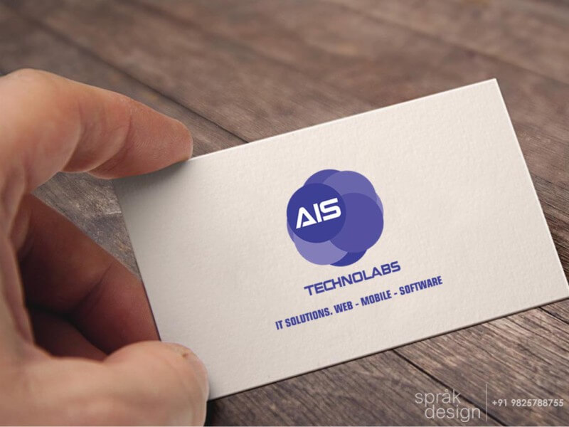 IT company visiting card design