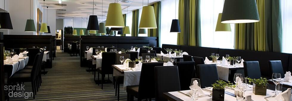 Modern rules of restaurant interior design