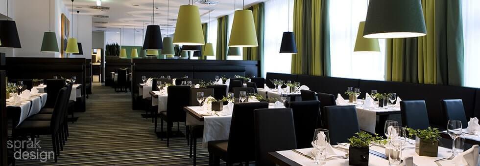 Modern rules of restaurant interior design
