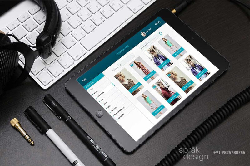 ipad app ui design