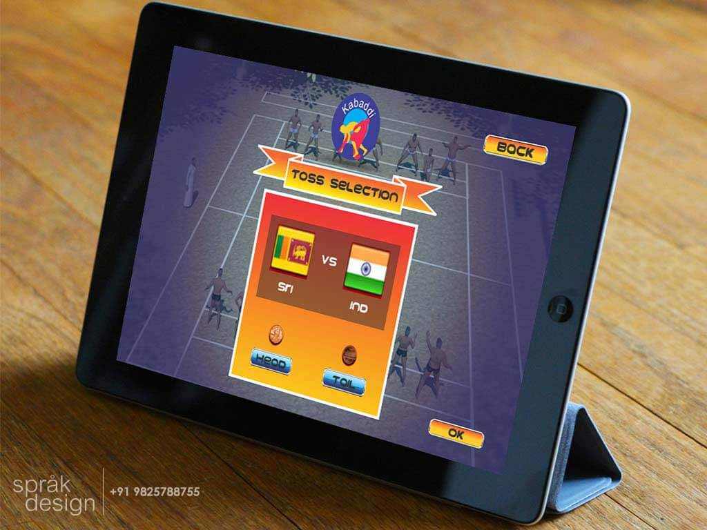 ui design kabaddi gameq