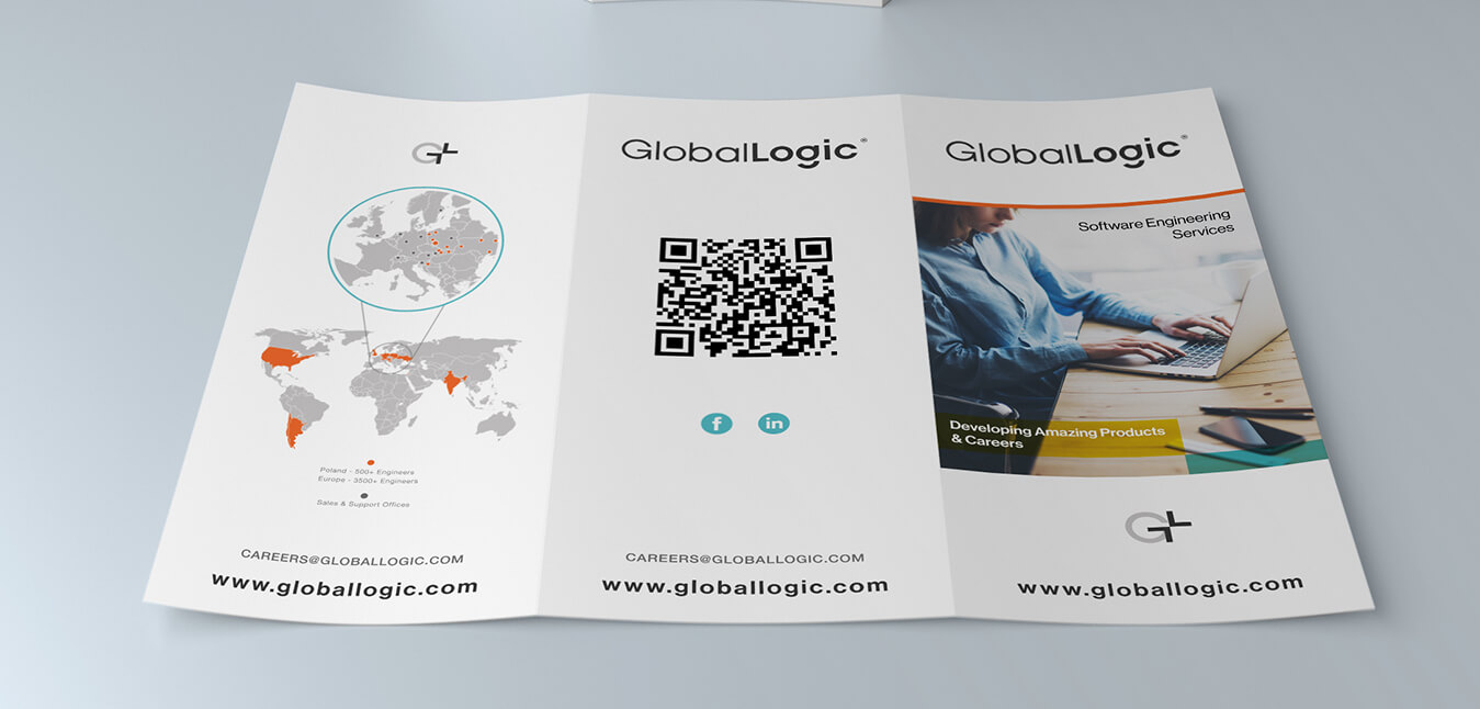 Brochure Design For Software Company Software Company Brochure